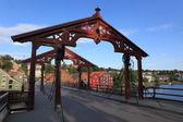 Old bridge in Trondheim — Stock Photo
