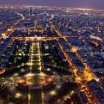 Night view of Paris — Stock Photo