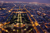 Night view of Paris — Stock Photo