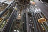 La sagrada familia en barcelona — Foto de Stock