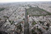 Paris district view — Stock Photo