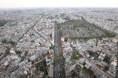 Beautiful Paris view — Stock Photo