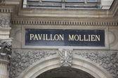 Pavillon Mollien — Stock Photo