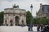 Arc de triomphe in parijs — Stockfoto