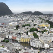 Art Deco Norway city — Stock Photo