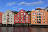 Storehouses in Norway — Stock Photo