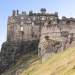 Edinburgh Castle, Scotland, UK — Stock Photo