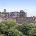 Edinburgh Castle , Scotland, UK — Stock Photo