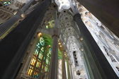 La Sagrada Familia, the unrealistic cathedral — Stock Photo