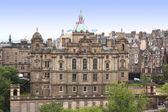 Aerial view Edinburgh, Scotland, UK — Stock Photo