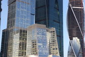 Part of Skyscrapers City international business center — Stock Photo