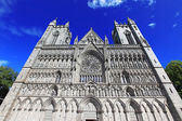 Trondheim cathedral, Norway — Stock Photo