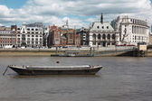 Riverside of Thames in London ,UK — Stock Photo