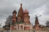 Saint Basil's Cathedral in Moscow, Russia — Stock Photo