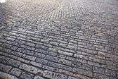 Cobble-stoned lane in Jerusalem — Stock Photo