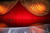 Classical retro elegant theater — Stock Photo