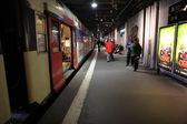 Inside view of Paris Underground — Stock Photo