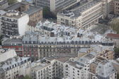 Center of Paris from the top. — Stock Photo