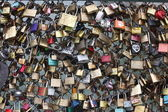 Famous Pont des arts in Paris, France — Stock Photo