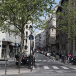 View of street in Paris — Stock Photo