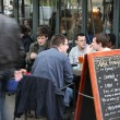 View of typical paris cafe — Stock Photo #46674531