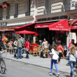 View of typical paris cafe — Stock Photo #46674677
