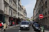 Vista de calle en parís — Foto de Stock