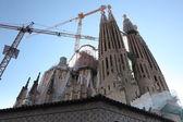 La Sagrada Familia — Stock Photo