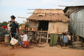 Poverty in Tonle Sap — Foto de Stock