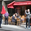 View of typical paris cafe — Stock Photo #47062919