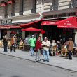 View of typical paris cafe — Stock Photo #47063281
