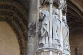 Catedral de notre dame — Fotografia Stock