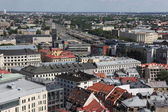 Aerial view over the Old Riga City — Foto de Stock