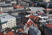 Aerial view over the Old Riga City — ストック写真