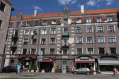 Square in old part of Riga, Latvia — Foto de Stock