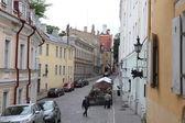 Old street in Tallin — Stock Photo