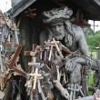 Hill of Crosses, Lithuania — Stock Photo #48466239