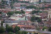 Vilnius Old town from its hills, Lithuania — Stock Photo