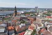 The general view of Riga, Latvia — Stock Photo