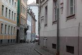 Street of Riga, Latvia — Stock Photo