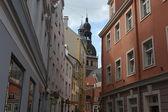 Street of Riga, Latvia — Foto Stock