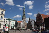 Old town of Riga, Latvia — Stockfoto