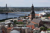 Top view of Riga — Stock Photo