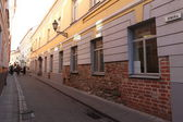 Old houses in Vilnius — Stock Photo