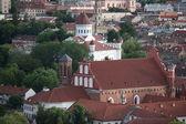 Vilnius panorama — Stock Photo