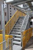 Escada de incêndio — Foto Stock