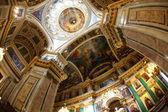 Interior de la Catedral de San isaac — Foto de Stock