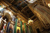 Interior of  Saint Isaac's Cathedral — Stock Photo