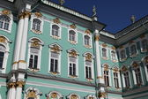 Hermitage (Winter palace) in Saint-Petersburg, — Stock Photo