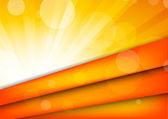 Fondo naranja abstracto — Vector de stock